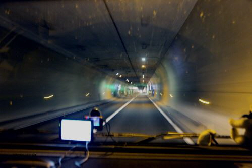 Im Tunnel Puymorens W
